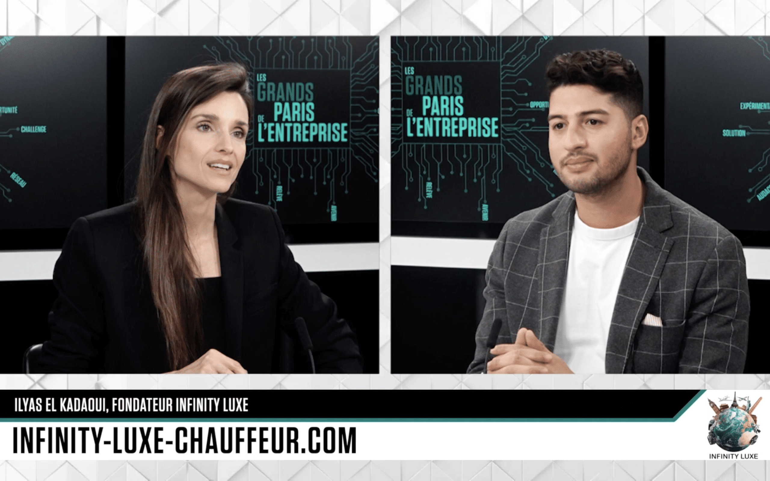 Infinity Luxe dans Les Grands Paris de l'Entreprise présentée par Céline Bosquet sur B Smart